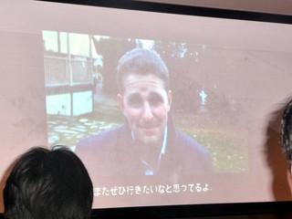 WordPress創始者のMatt Mullenweg氏のビデオメッセージ