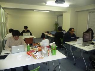 Hackathonの様子