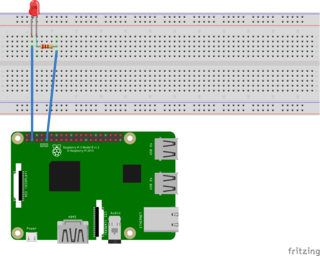 Tinker BoardでLチカする際の配線