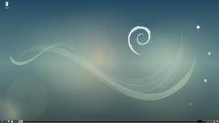 Debianのデスクトップ